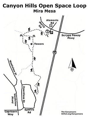 Canyon Hills map