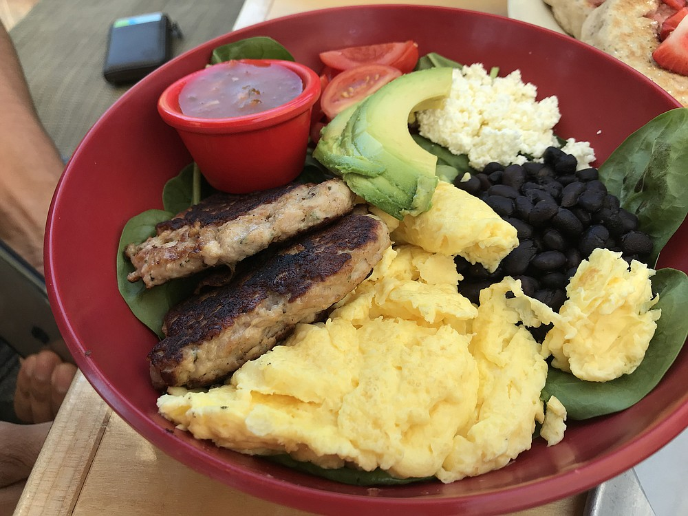 The protein bowl, probably the most popular breakfast