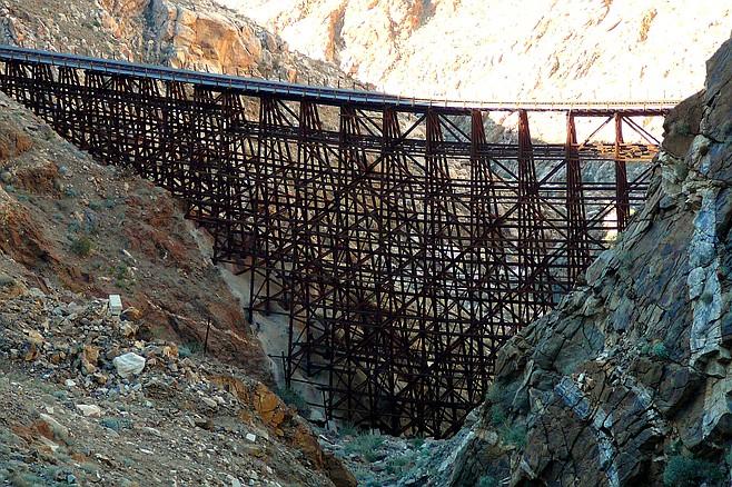 Hiking to Goat Canyon Trestle, legally
