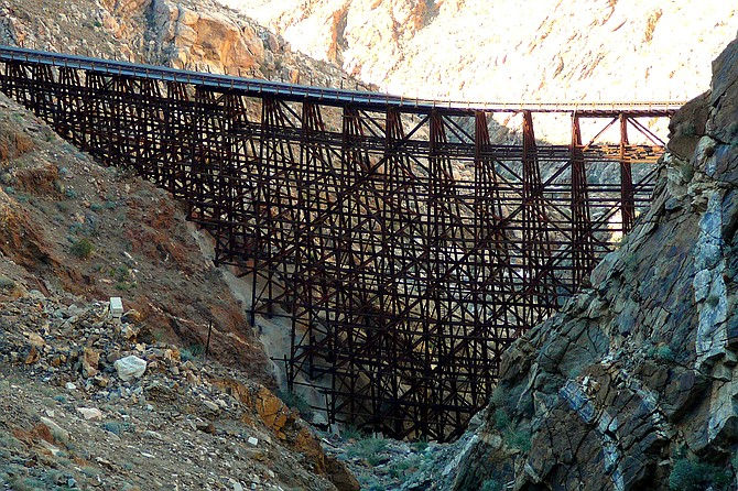Hiking to Goat Canyon Trestle, legally