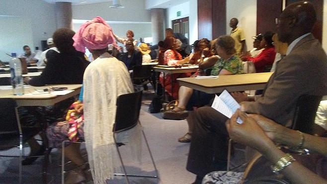 Malcom X library meeting