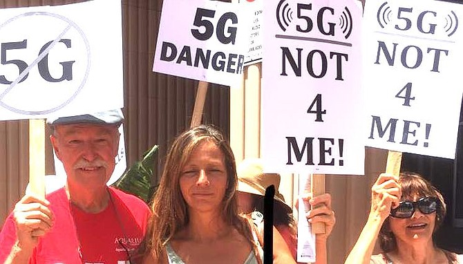 Stop 5G rally on June 23
