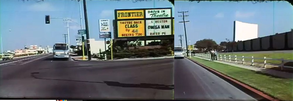 Frontier Drive-in circa 1973