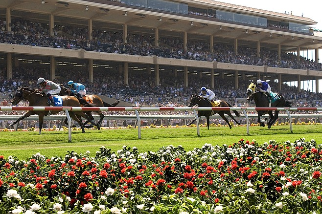 "Joe Harper: ""We've been... talking to the TV stations,  and saying, 'We're not Santa Anita.' """