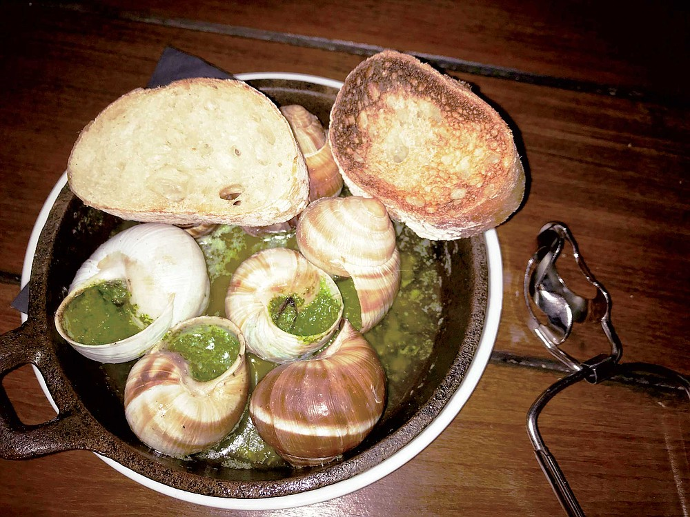 You've gotta have snails at Little Frenchie