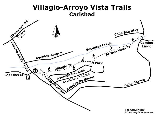 Villagio-Arroyo Vista map