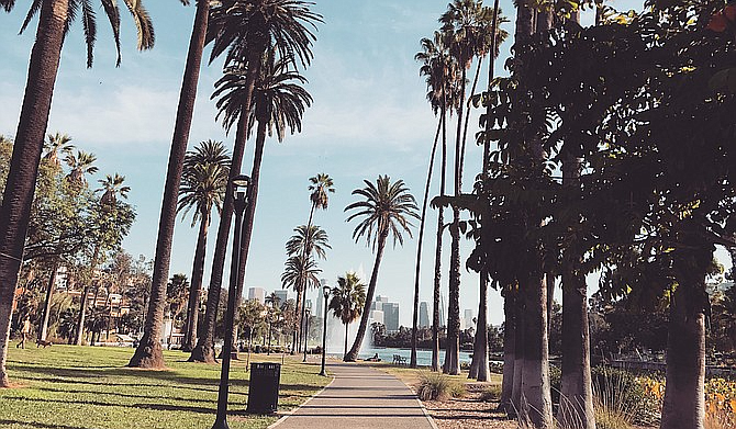 Home to trendy restaurants/bars and indie music venues, the Echo Park neighborhood is just down the road from Dodger Stadium.