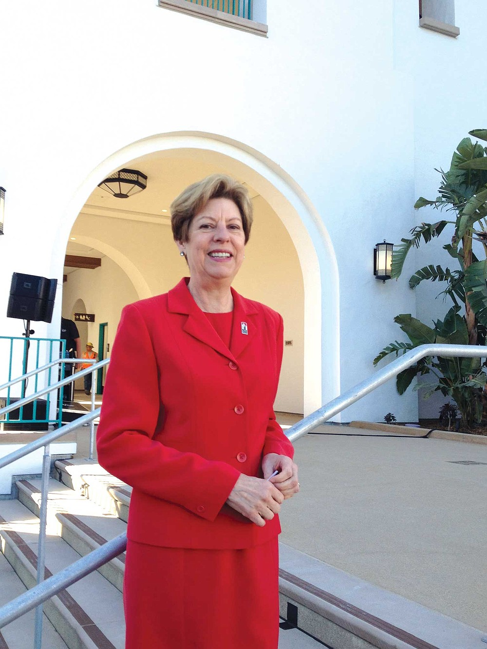 Sandra Cook is the associate vice president for enrollment management at SDSU.