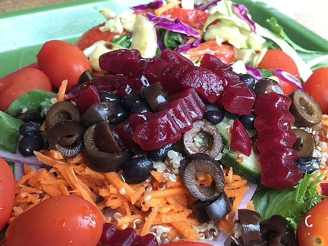 Salads are what Souplantation is absolutely all about