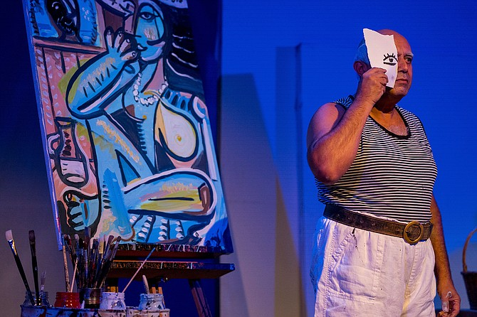 "A Weekend with Pablo Picasso: ""A visceral performance, a fascinating study."""