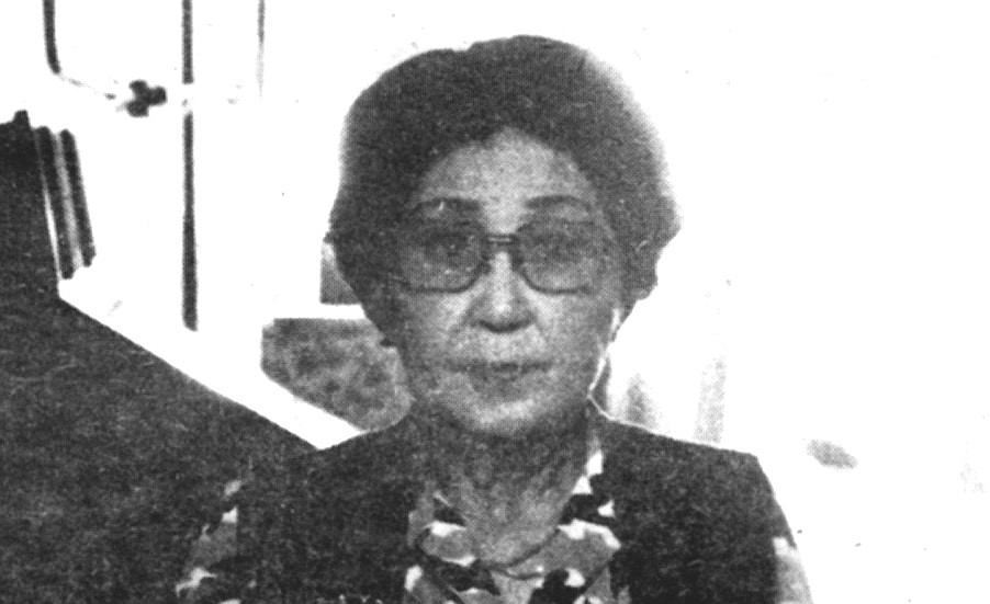 Ruby Yamada.  During the war she was given a week to sell the business before she and her family were shipped on a train to Arizona.