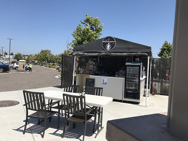 More than a pop-up - Maria Lopez's cafe at H Street trolley station