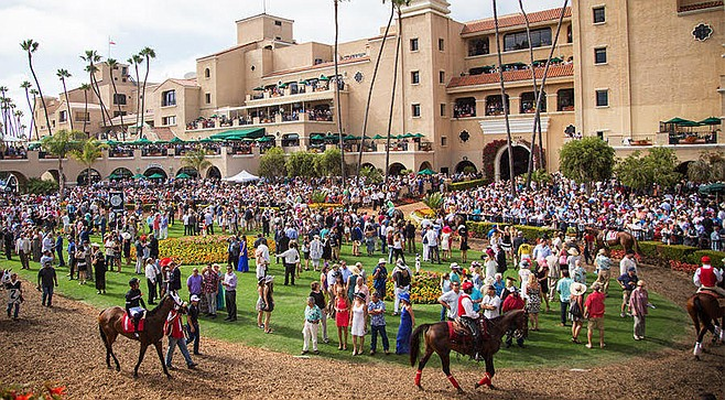 "Atkins showed up at Del Mar this month ""to see how the [Del Mar] track is maintained and prepared before and after each race."""