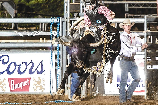 """""""We help keep the sport of rodeo alive by introducing it to people in the modern world. Everything that's in the rodeo except for bull riding is still done on ranches."""""""