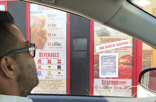 """""""Don't waste your time coming here for the new chicken sandwich."""""""
