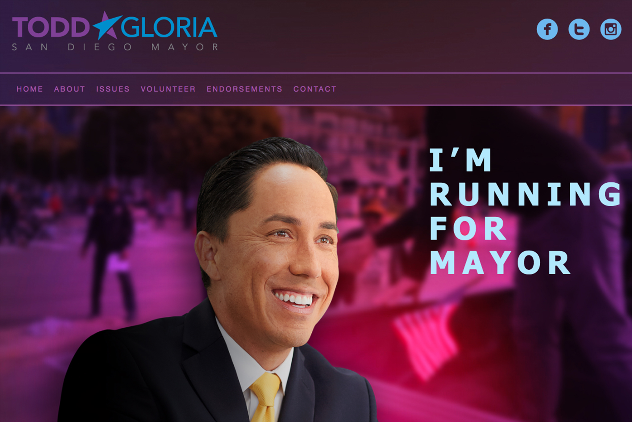 Todd Gloria takes over the charity scam from Faulconer