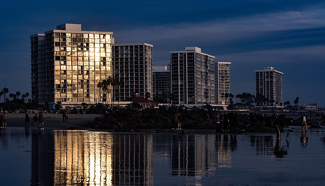 Coronado Shores. Will the Coastal Commission allow more of these to be built? - Image by Brian Lippe