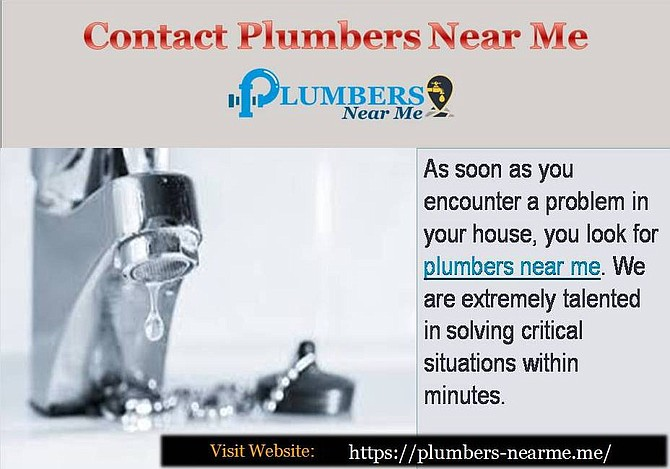 As you search for plumbers near me on the web, you will see us. We urge you to resolve all types of services such as installing new pipelines, checking for leakage. Our plumbers are extremely well-founded, trustworthy and fully certified. Visit: https://plumbers-nearme.me/