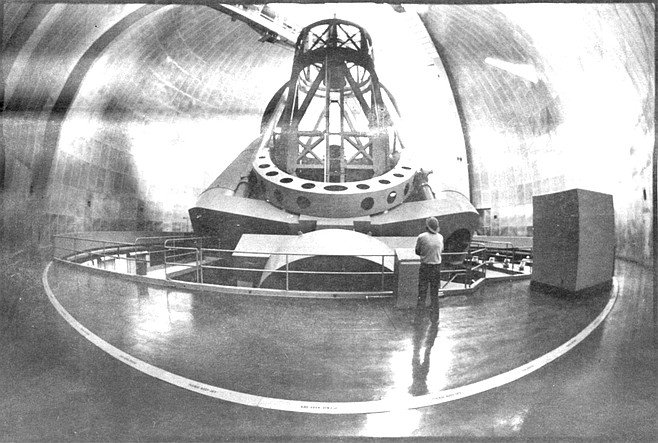 The Hale is currently the largest working telescope in the world, but that claim to fame will not hold for much longer.