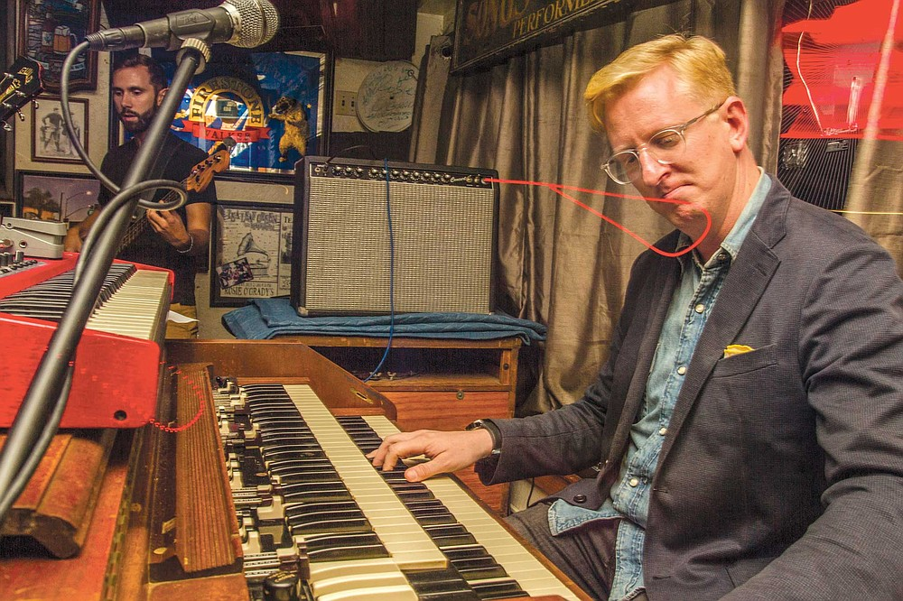 """Ed Kornhauser is one of several locals who helped Felten bring the Hammond C-3 to Rosie's. """"I really like the scene we've got here in San Diego, and I was happy to make an investment in it,"""" said Kornhauser."""