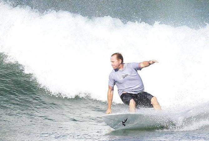 """Matt Jones: """"K38 is not known for shark attacks."""""""