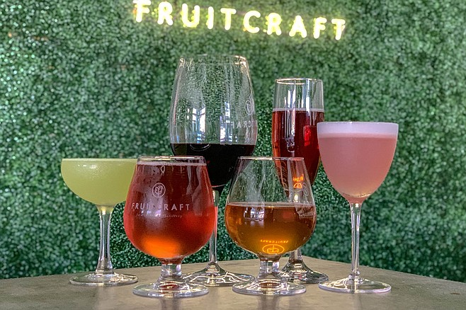 Fruitcraft beverages now include hard cider, mead, kombucha, and cocktails, in addition to fruit wine.