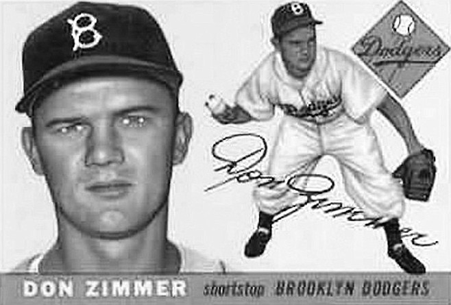 "Don Zimmer: ""Well, it was an expansion club, and you know, it's not a lot of fun when you lose 100 games a year."""