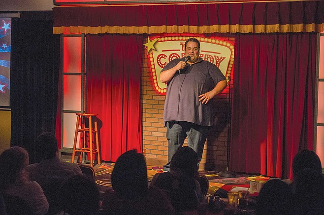 After nine years in comedy, Bijan Mostafavi is one of the few full-time local comics not drawn by L.A.'s gravitational pull.