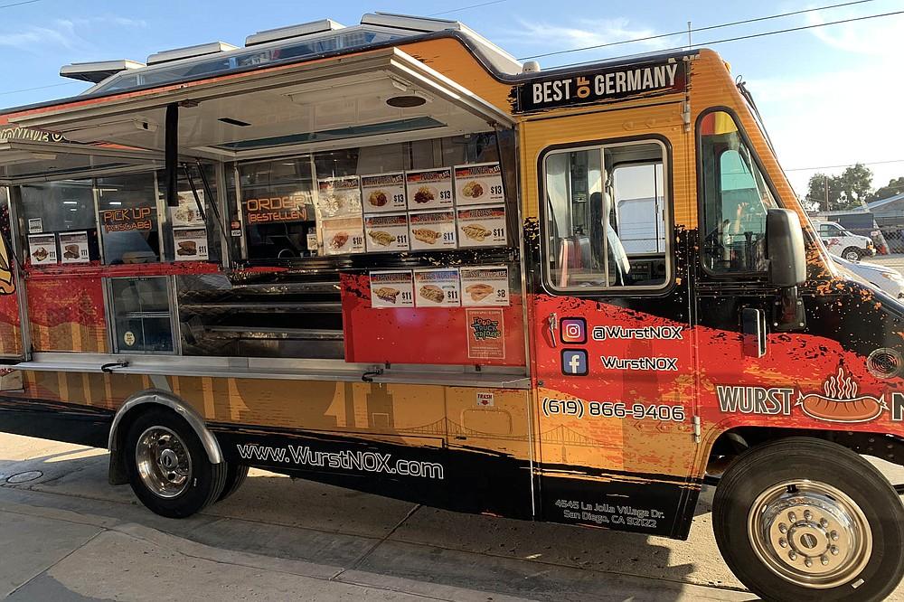 "The so called ""Original German Food Truck"""