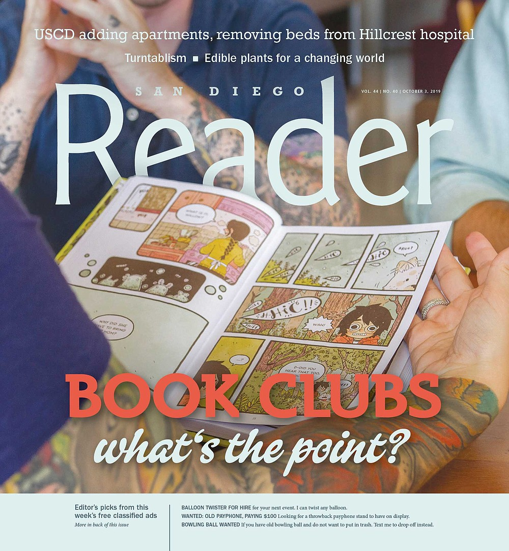 San Diego book clubs – what s the point