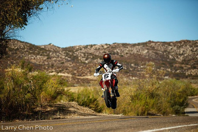 The 2019 race was dedicated to Carlin Dunne who crashed his Ducati motorcycle at Pikes Peak run.