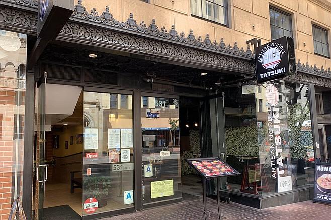 A new ramen shop at the site of an old ramen shop