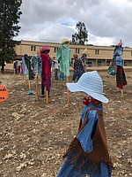 """Silent People"" scarecrows headed to Fallbrook for Fallbrook Scarecrow Days"