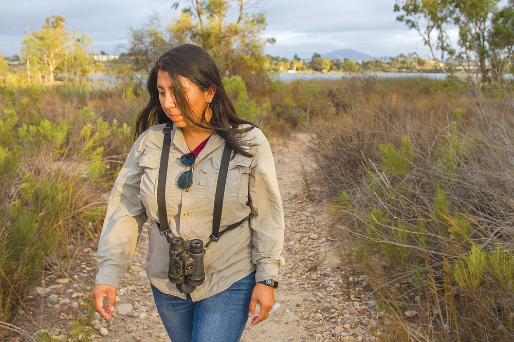 """""""Am I aware of the coyotes?"""" Janel Ortiz says. """"Definitely. They surround us because of the canyons that surround us. They're opportunists."""""""