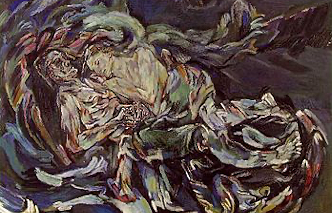 Oskar Kokoschka's The Bride of the Wind inspired by his unrequited love for Alma Mahler