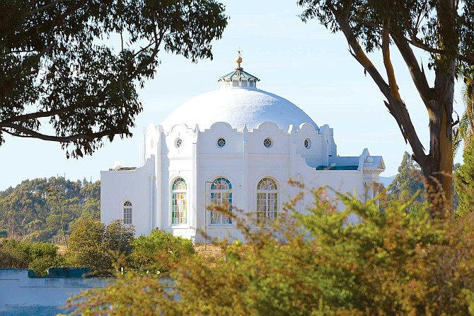 For over a century, the Rosicrucian Temple has overlooked Oceanside's San Luis Rey Valley.