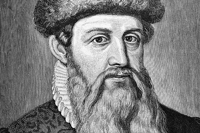Gutenberg Bible Marked The Advent Of The Printing Press In Europe San Diego Reader