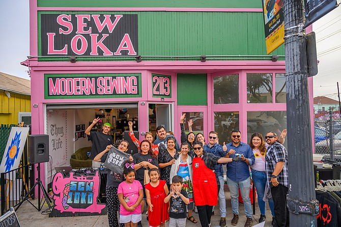 Sew Loka owner is part seamstress, part life coach