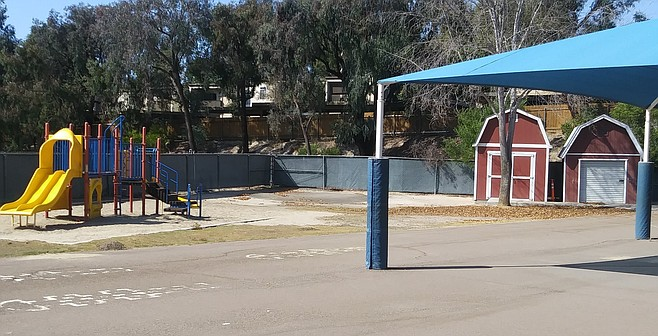 """Garrison Elementary. """"If we put all this new equipment in and the soil fails, we may have a lawsuit."""""""
