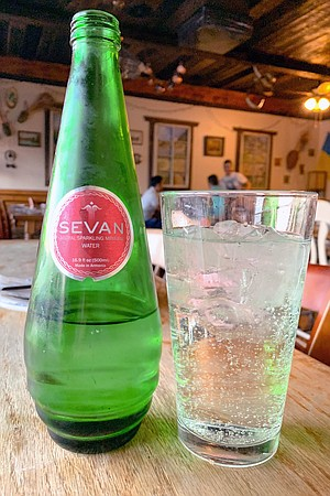 When it comes to Armenian sparkling mineral water, don't bother.