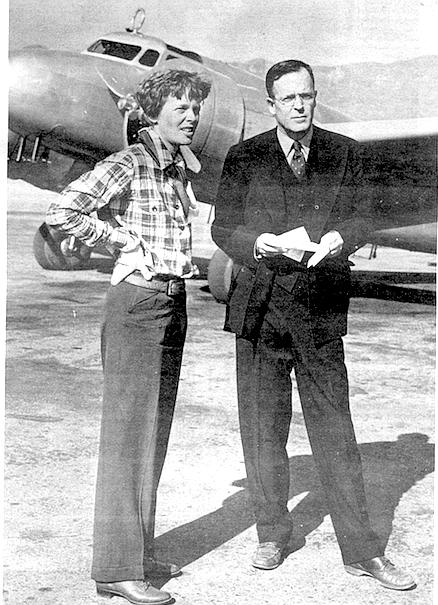 Amelia Earhart and G.P. Putnam, c. 1937