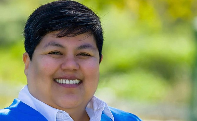 Georgette Gomez didn't start collecting her campaign money until September 14.