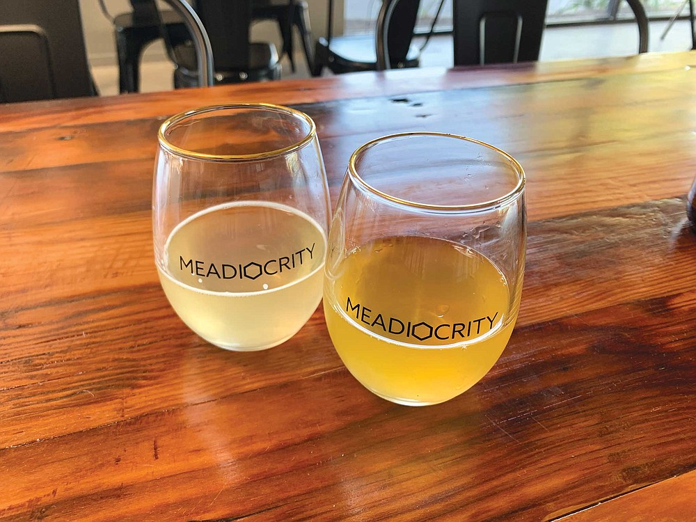 The overlap of mead and wine becomes quickly apparent when you check out the newly opened tasting room of Meadiocrity.