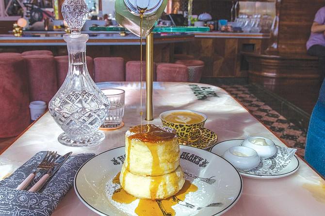 Take a chance on Morning Glory's Japanese style souffle pancakes