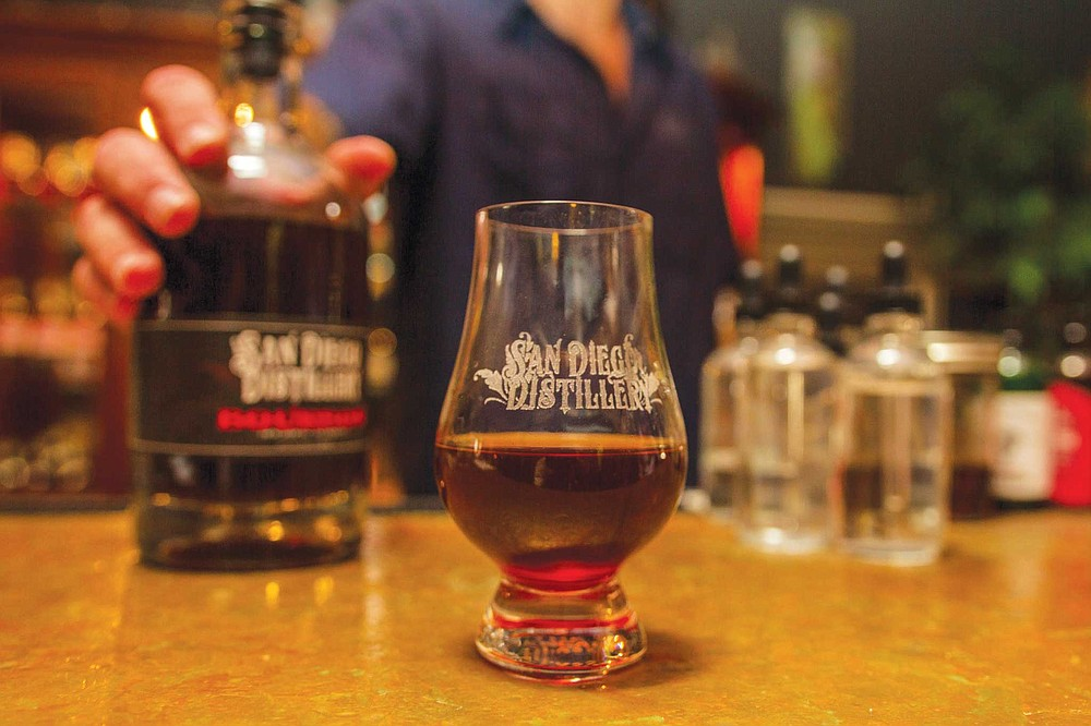 From its vintage styled distillery and tasting room in Spring Valley, San Diego Distillery distills local craft beer to its very essence, then ages it on oak until it's got hair on its chest.