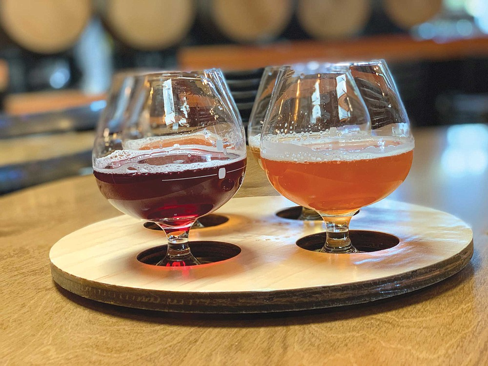 Wild Barrel opened two years ago with a variety of berliners, each blended with a different fruit, and though they all hailed from the same beer recipe, each brew took on unique characteristics according to its blend.