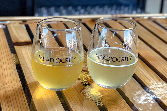Wine-like meads produced from Meadiocrity's own hives in East County