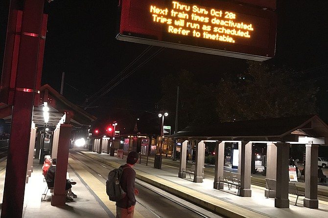 Coaster and trolleys - weekend delays, new timetables