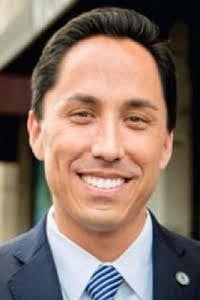 Todd Gloria – Geo beneficiary who gave the funds to charity