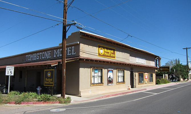 The Tombstone Motel building was originally built in the late 1870's (photo credit: Facebook.com).